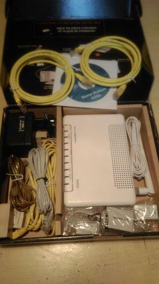 Router más cables