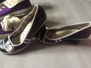 Zapato cuña cómodo