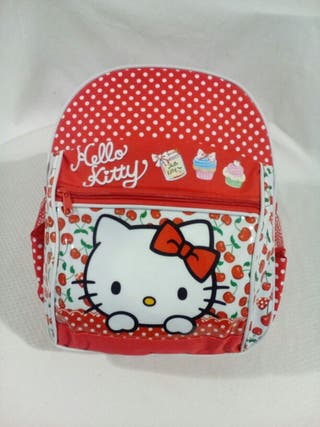 Mochila infantil Hello Kitty.