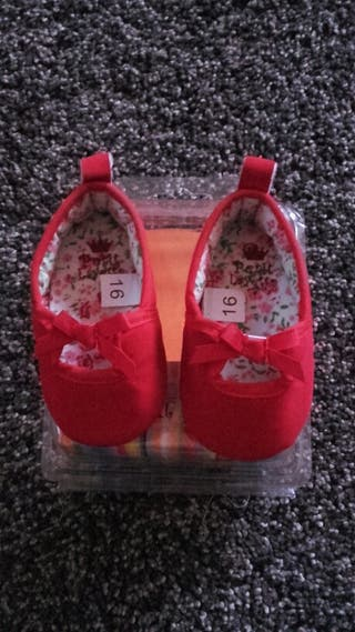Zapato bebe número 16