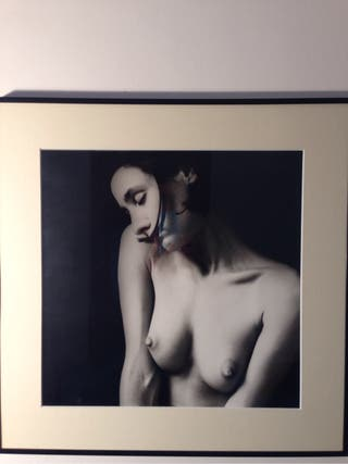 Fotografia blanco y negro.Desnudo.