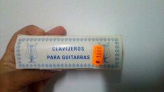 Clavijero para guitarra