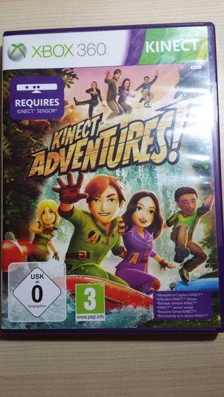 Kinect adventures para X BOX 360 Kinect