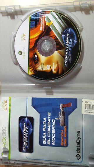Perfect dark zero video juego X BOX 360