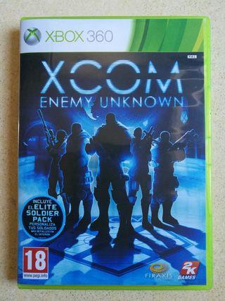 Videojuego XCOM Enemy Unknow Xbox360