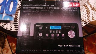 Amplificador estéreo hifi FONESTAR