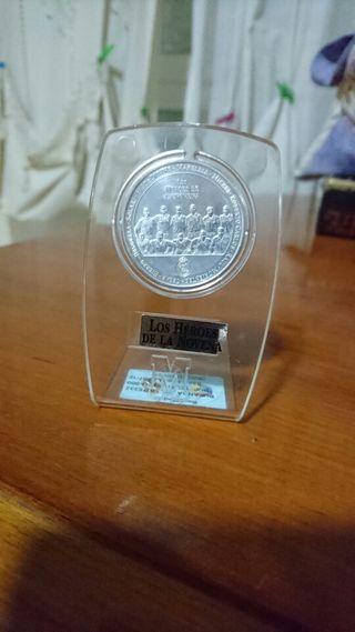 Moneda de plata Real Madrid