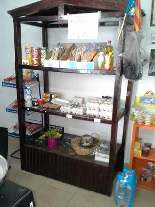 Muble de estantes para tienda