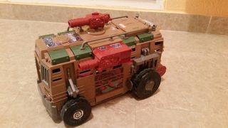 Camión tortugas ninja