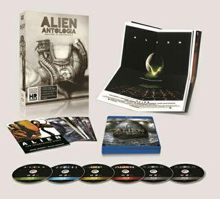 Alien Antología - Edición 35 Aniversario (Giger)