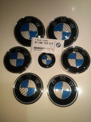 BMW EMBLEMAS ORIGINALES EN CARBONO