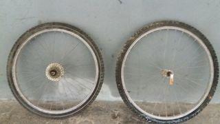 Ruedas montain bike.