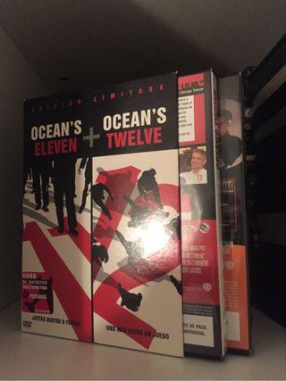 Películas pack oceans eleven + oceans twelve