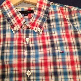 Camisa niño tommy hilfiger talla 152