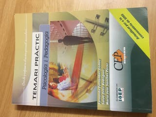 Llibre Oposicions Psicologia Pedagogia- Orientació