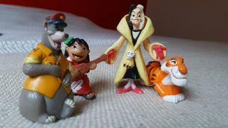 4 Figuras personajes Disney
