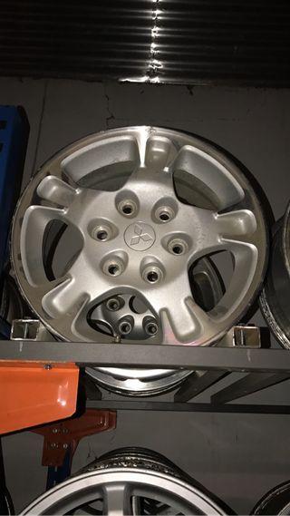 """Llantas de aluminio 16"""""""