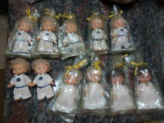 Muñecas antiguas de comunion
