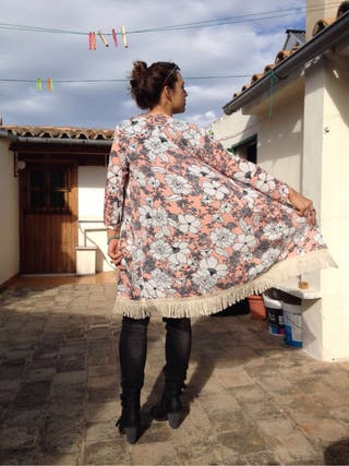 Preciosa kaftán-bata kimono