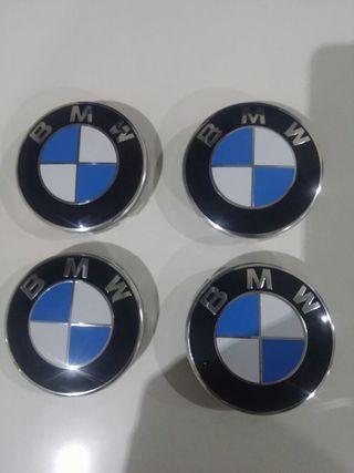 4 TAPAS PARA LLANTAS BMW