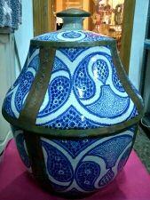 Tibor marroquí cerámica y latón