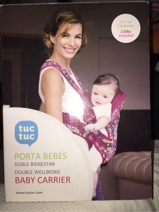 Mochila porta bebe tuc tuc