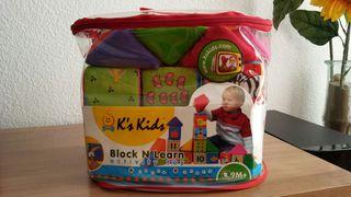 Juguete bebe bloques didacticos +9m