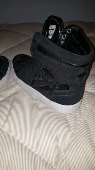 Botines zapatillas nike