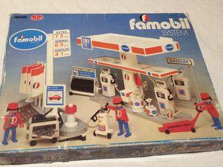 Gasolinera Famobil de los 80
