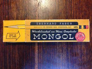 Lápices Eberhard Faber Mongol 480