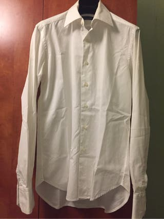 Camisa blanca Zara T.38