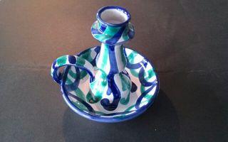 Palmatoria cerámica Fajalauza