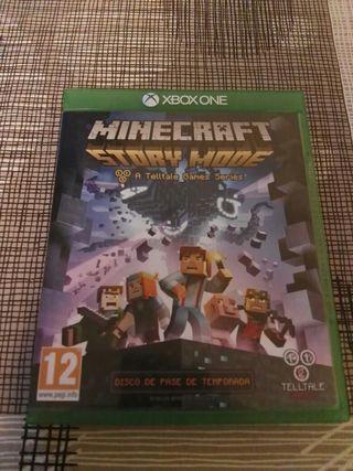 Juego Minecraft Story Mode Xbox One