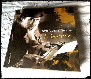 """Libro J. Sabina """"Con buena letra"""""""