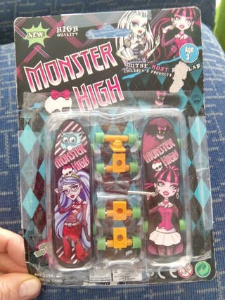 Patinetes juguete monster high
