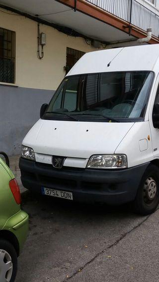 Furgoneta Peugeot