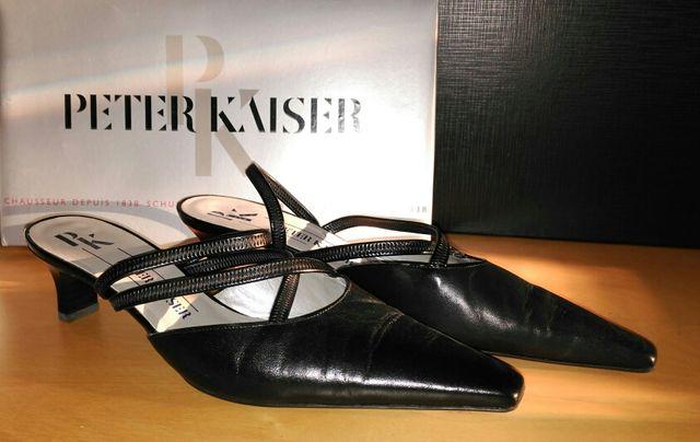 free shipping 4f44e 67096 Zapatos de gala mujer Peter Kaiser negros de segunda mano ...