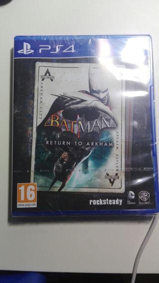 PRECIO NEGOCIABLE-BATMAN- RETURN TO ARKHAM-PS4