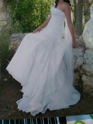 vestido de novia de marca de segunda mano en villarreal en wallapop