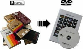 Servicio digitalización de Beta a DVD