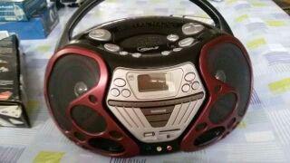 Radiocassete samsung cd usb digital