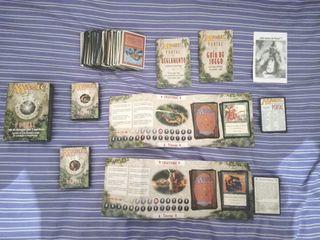 Magic: El encuentro PORTAL + cartas varias