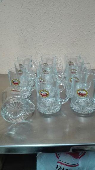12 jarras cerveza