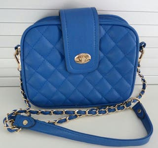 Bolso azulón