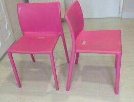sillas rosas de magis