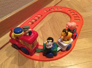 Tren Juguete Infantil Con Sonido