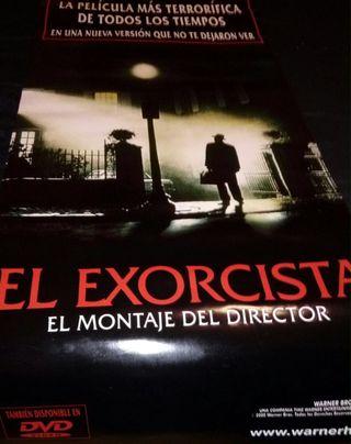 El Exorcista. Cartel De Cine