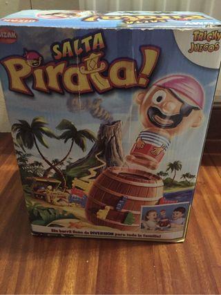 Juego salta pirata