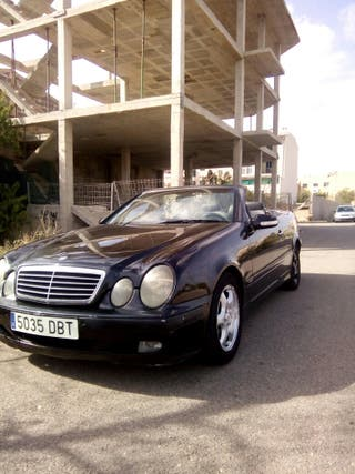 Mercedes clk cabrio descapotable