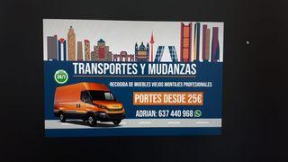 Transportes -portes - mudanzas